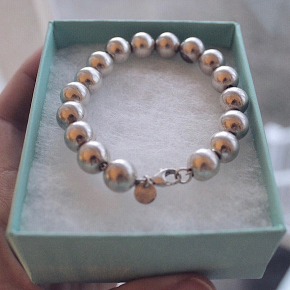 8288ec2c7 Tiffany & Co. Jewelry | Tiffany Co Ball Bracelet | Poshmark